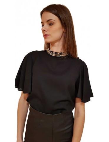 Black Fracomina shirt