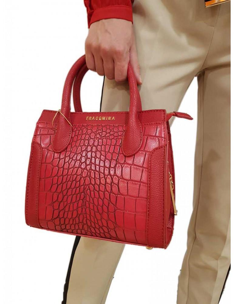 Fracomina borsa rossa fr18fp238234 FRACOMINA BORSE E CINTURE DONNA product_reduction_percent
