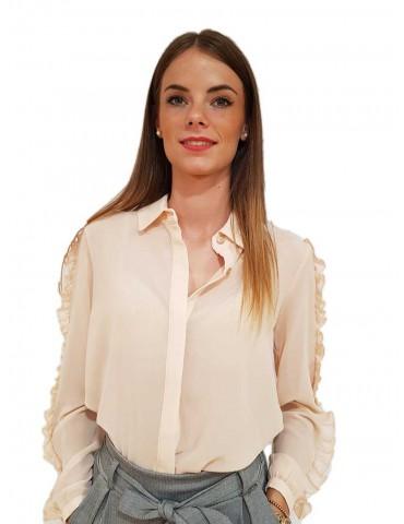 Fracomina pink powder shirt