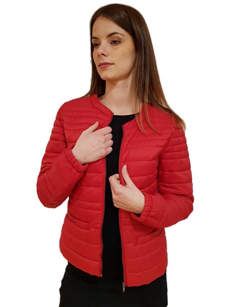 Fracomina giubbino rosso cento grammi fr18fp700e02 FRACOMINA GIUBBINI E PIUMINI DONNA product_reduction_percent