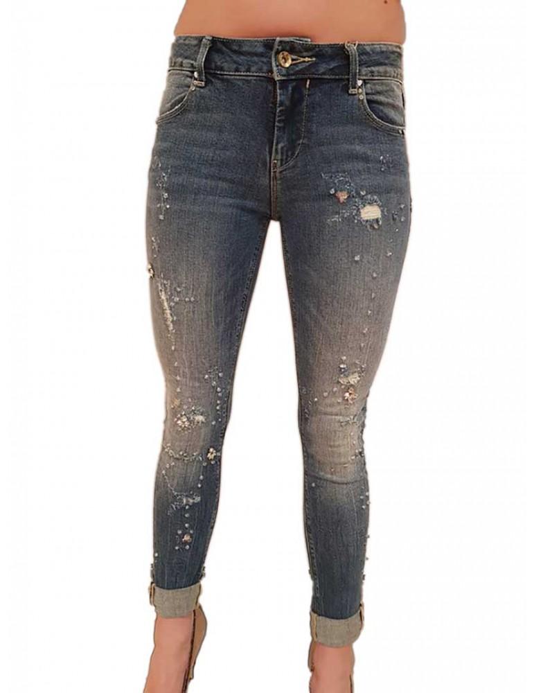 Fracomina jeans Katy 2 dirty bleached fr18spjkaty2441 FRACOMINA JEANS DONNA product_reduction_percent