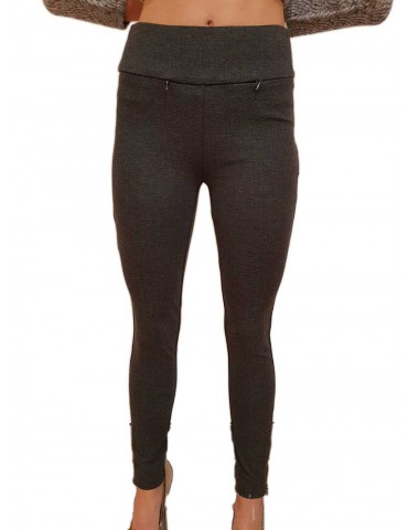 Fracomina leggings shape up grigio