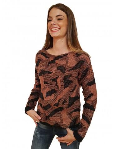 Fracomina Black Pink Thiphanie Shirt