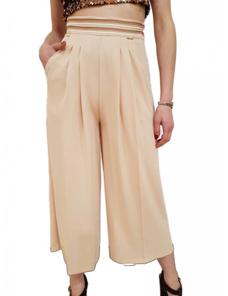 Fracomina pantalone capri cipria fr19sp130103 FRACOMINA PANTALONI DONNA product_reduction_percent