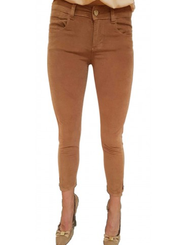 Fracomina pantalone donna marrone betty12