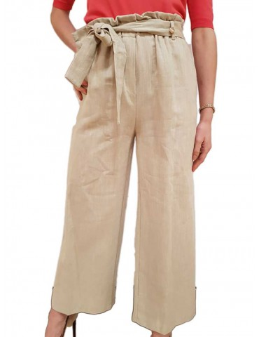Fracomina gaucho mud trousers