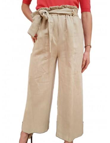 Fracomina pantalone gaucho mud
