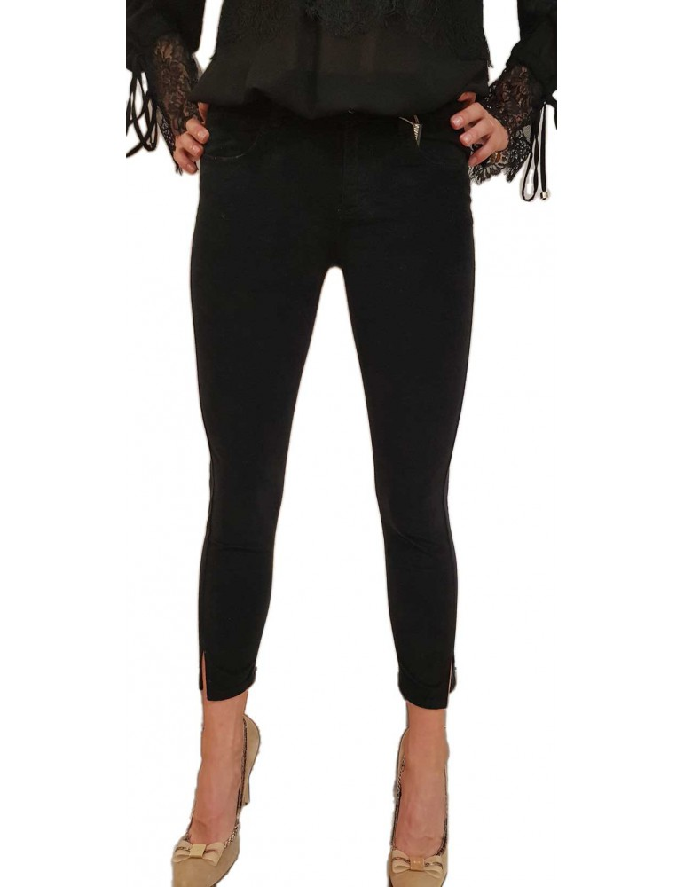 Fracomina pantalone nero betty12 fr18fmcbetty12053 FRACOMINA PANTALONI DONNA product_reduction_percent