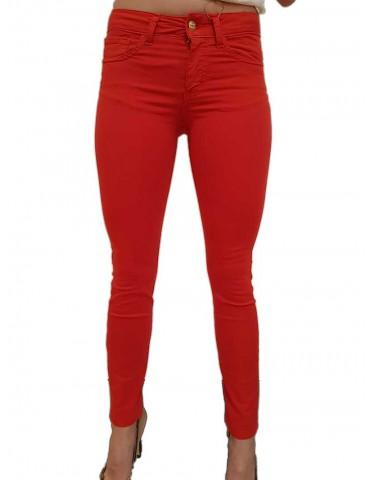 Fracomina Pantalone rosso Tina shape up
