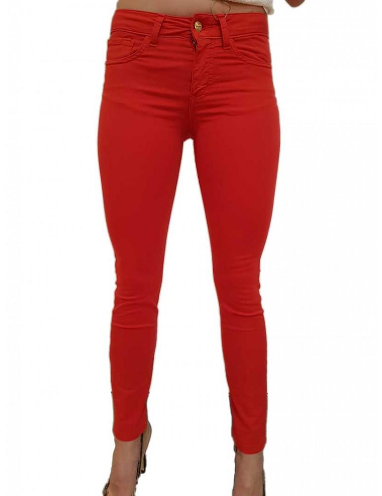 Fracomina Pantalone rosso Tina shape up fr19spctina10234 FRACOMINA PANTALONI DONNA product_reduction_percent