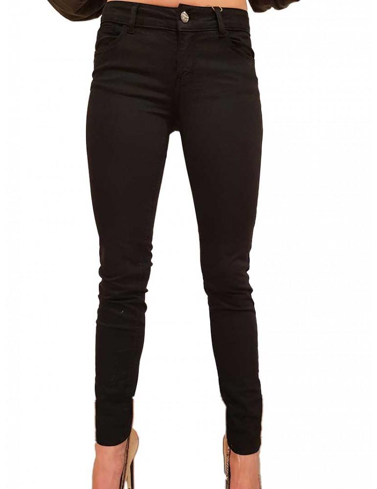 Fracomina pantalone skinny nero Tina fr19fpctina11053 FRACOMINA PANTALONI DONNA product_reduction_percent