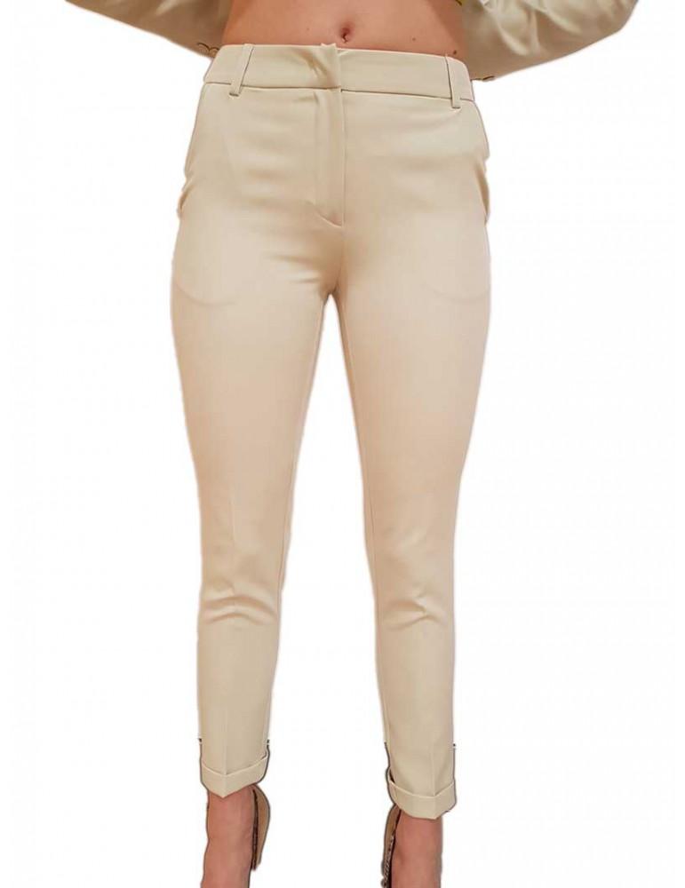 Fracomina Pantalone slim chino safari fr19sp628246 FRACOMINA PANTALONI DONNA product_reduction_percent