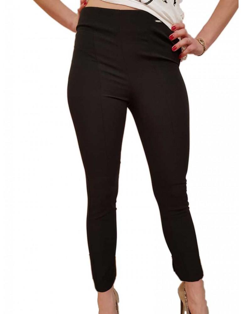 Fracomina pantalone slim nero fr19sp133 fr19sp133053 FRACOMINA PANTALONI DONNA product_reduction_percent