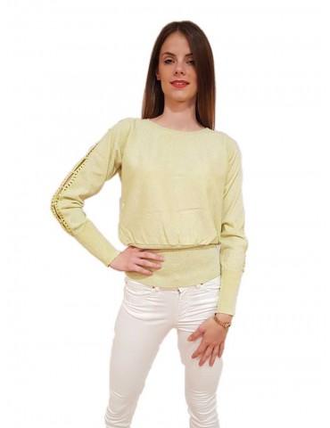 Fracomina acid green sweater