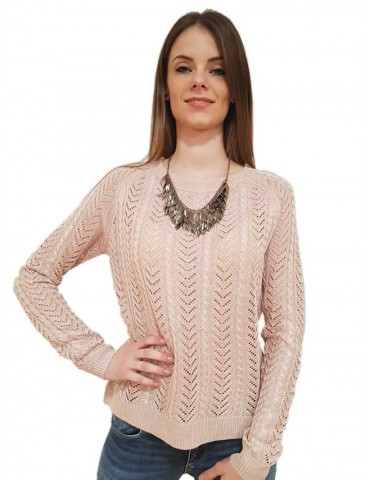 YumiFracomina pink sweater