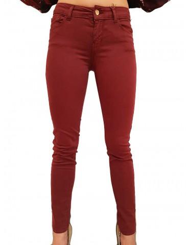 Pantalone bordeaux Fracomina Tina