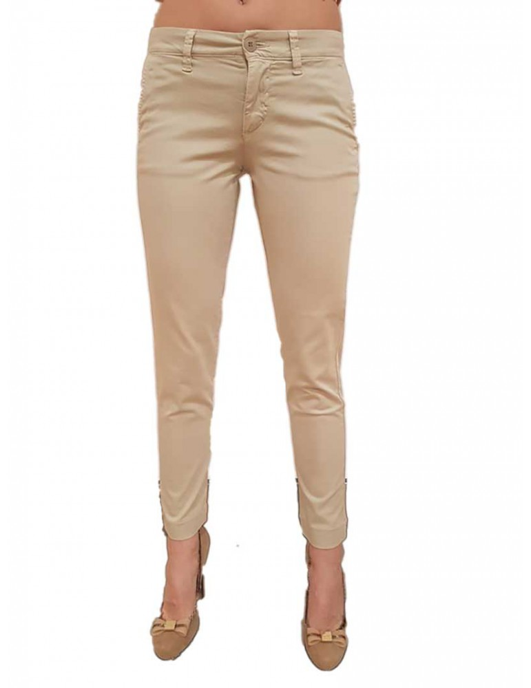Blauer pantalone donna satin grigio 18sbldp01253004946901 BLAUER USA PANTALONI DONNA product_reduction_percent