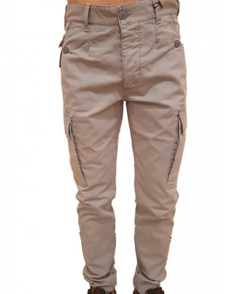Pantalone uomo grigio Blauer cargo multitasche 18sblup04496004988847 BLAUER USA PANTALONI UOMO product_reduction_percent