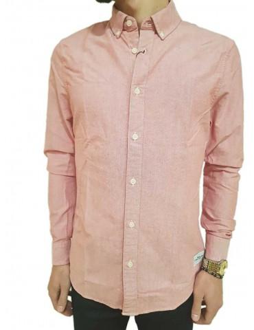 Calvin Klein slim red Wilbens shirt