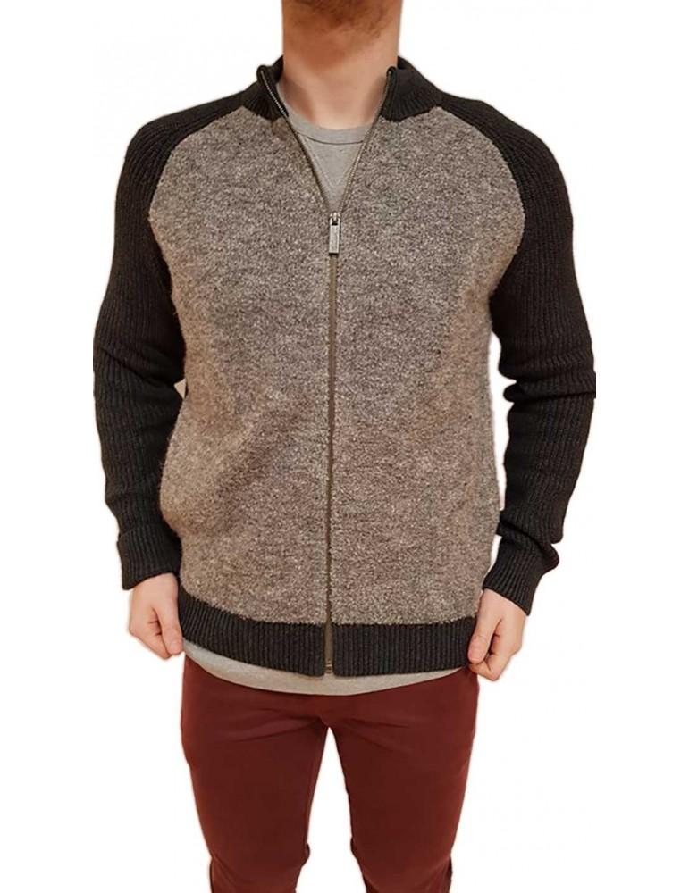 Calvin Klein cardigan zip grigio j30j306128020 CALVIN KLEIN JEANS MAGLIE UOMO product_reduction_percent
