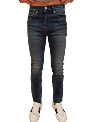 Calvin Klein Jeans man 026 slim Mickey blue