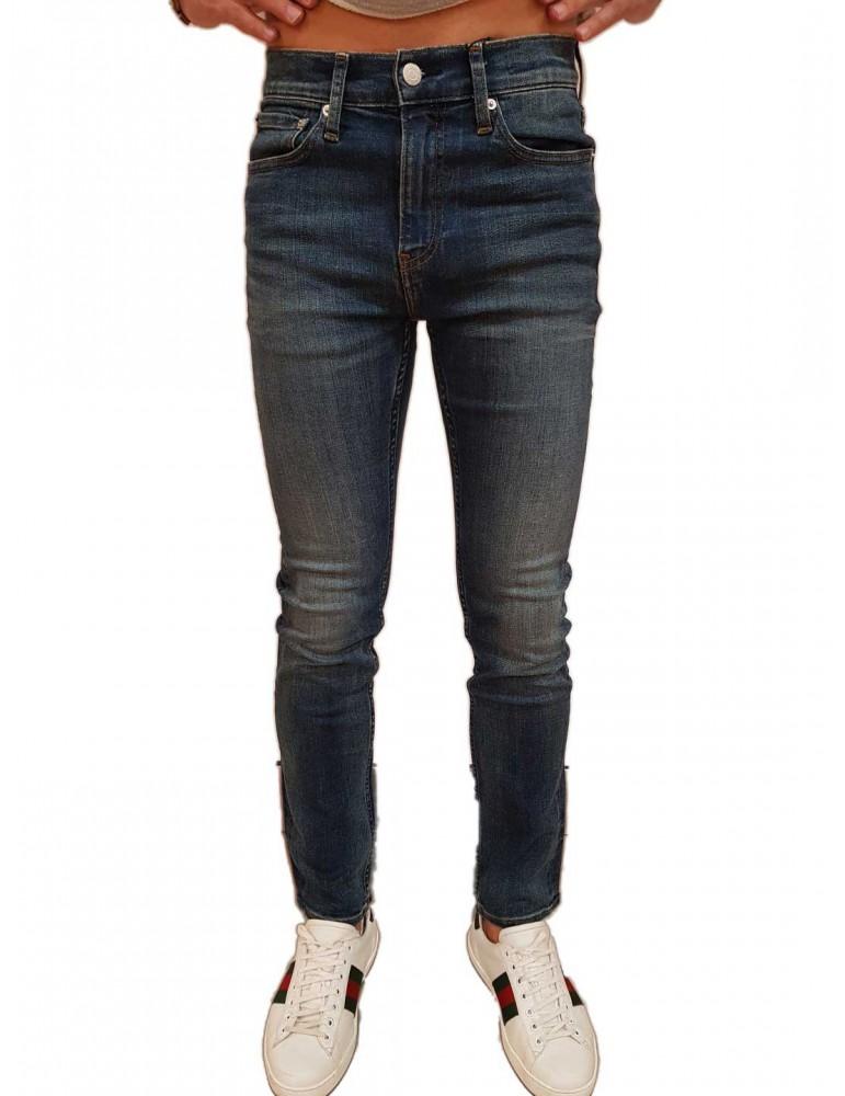 Calvin Klein jeans uomo 026 slim Mickey blu j30j308319911 CALVIN KLEIN JEANS JEANS UOMO product_reduction_percent