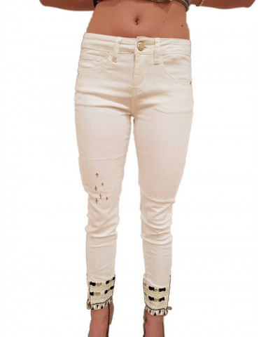 White Moon Desigual Jeans