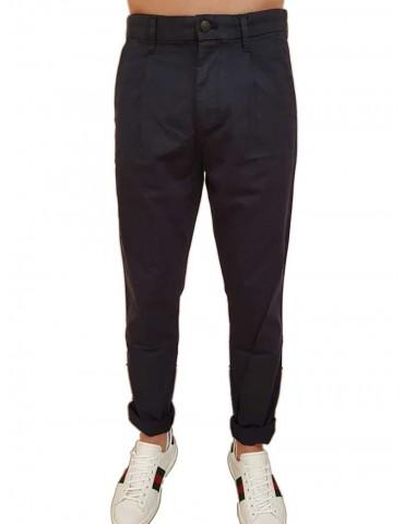 Calvin Klein pantalone chinos blu Hayden