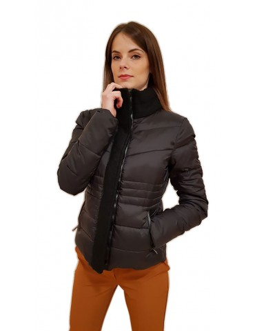 Fracomina black down jacket