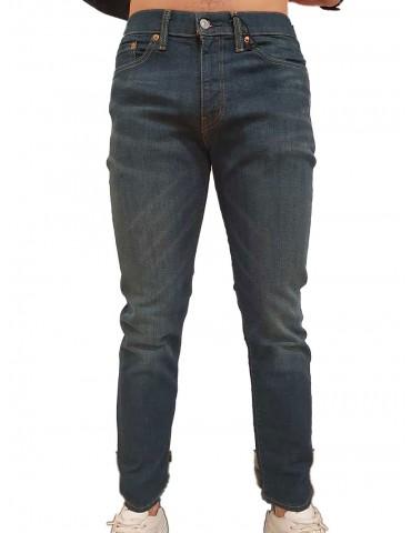 Levi's 511 uomo slim fit blu advanced stretch