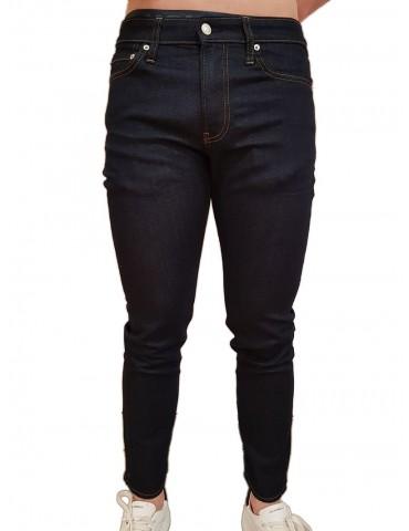 Jeans slim Calvin Klein blu scuro