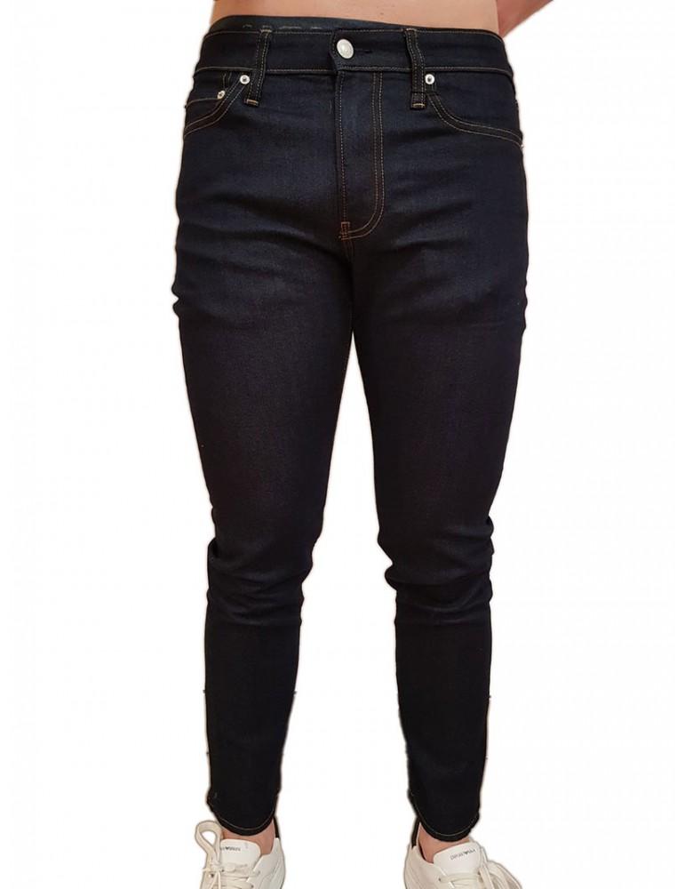 Jeans slim Calvin Klein blu scuro j30j312022911 CALVIN KLEIN JEANS JEANS UOMO product_reduction_percent