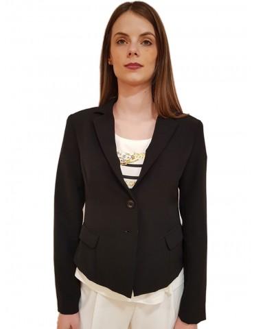 Gaudi giacca nera corta