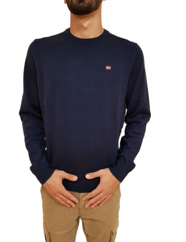Blue Damavand lap Napapijri sweater
