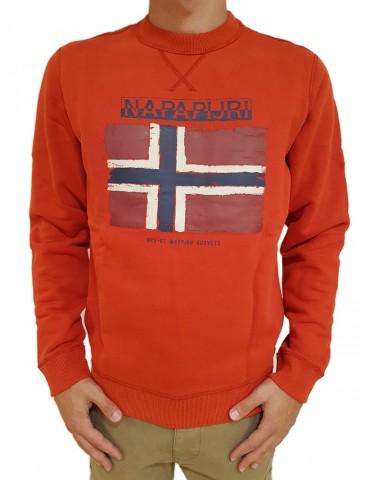 Napapijri red Balys sweatshirt