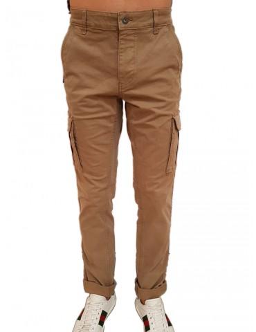 Napapijri beige motorcycle cargo pants