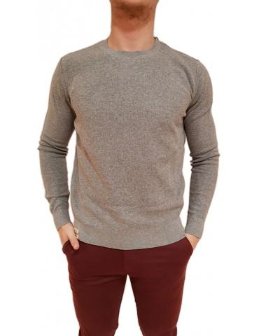 Napapijri maglione girocollo grigio Deber n0yhxg