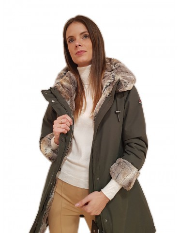 Canadiens parka Audry 2.0/w military green