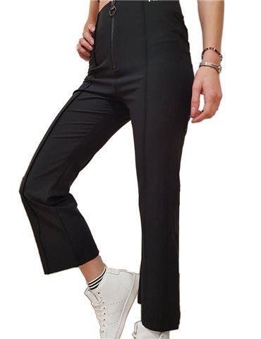 Fila pantalone Mar cropped nero 697904