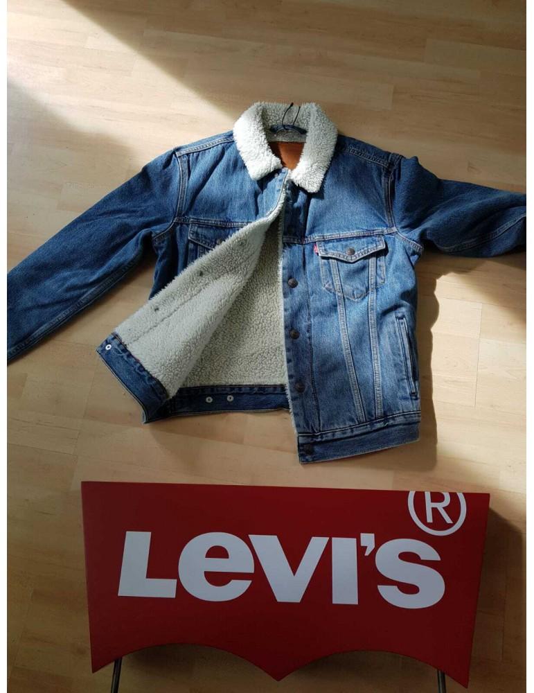 Levi's® giacca jeans sherpa type III sostenibile 163650128 Levi's® GIUBBOTTI E PIUMINI UOMO product_reduction_percent