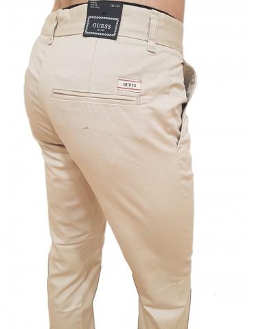 Pantalone Guess slim tasca america Myron beige