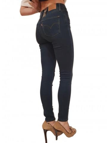 Jeans Levi's® 721 skinny vita alta Santiago night