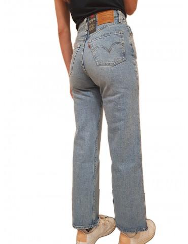 Jeans Levi's® ribcage straight ankle tango gossip