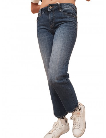 Fracomina jeans Bella-C perfect shape cropped stonewash