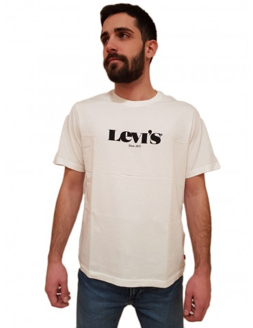 T shirt Levi's® bianca relaxed fit tee