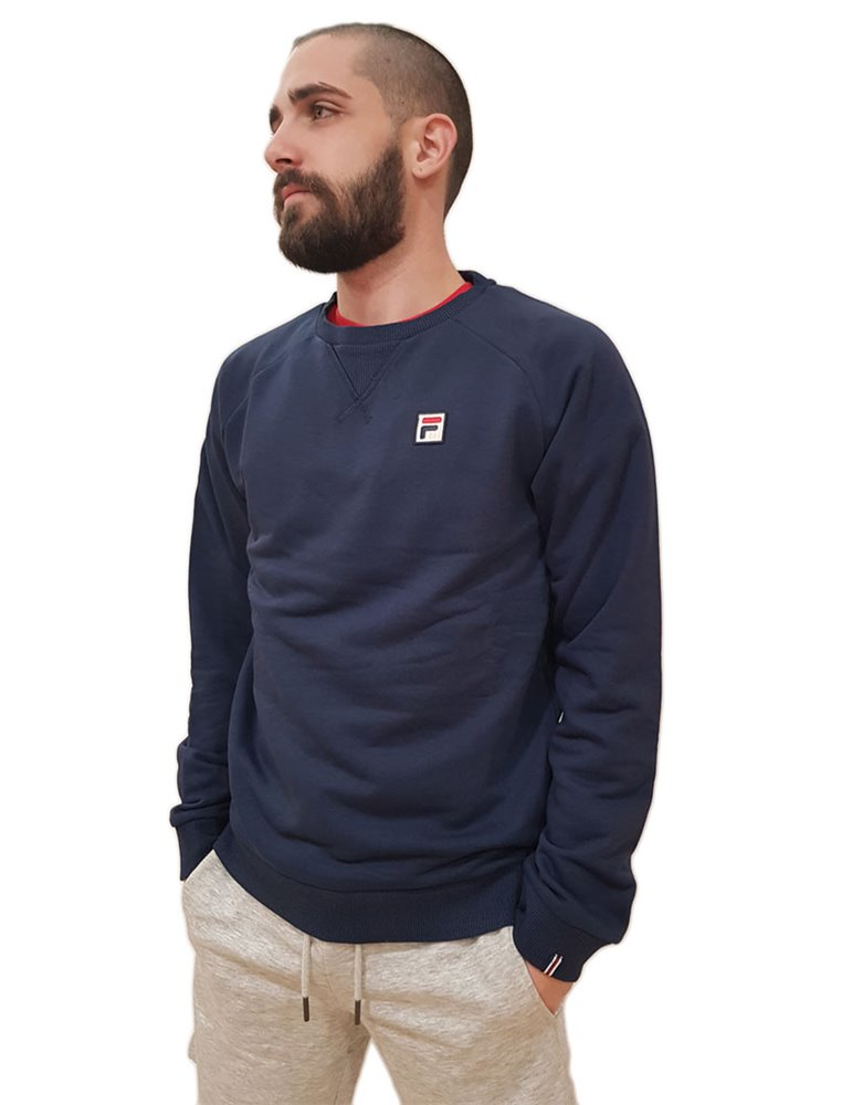 Fila felpa girocollo blue Heath raglan crew 688563 688563170 FILA FELPE UOMO product_reduction_percent