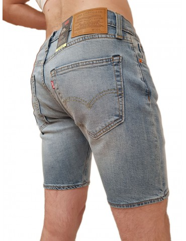 Levi's® pantaloncino slim 412™ light indigo