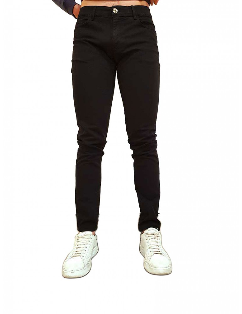 Jeans Trussardi nero 370 52j00007-1t002330-h002-k299 TRUSSARDI JEANS JEANS UOMO product_reduction_percent