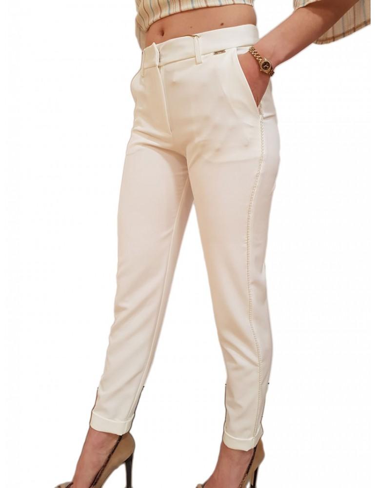 Fracomina pantalone chino crema fr19sp684108 FRACOMINA PANTALONI DONNA product_reduction_percent
