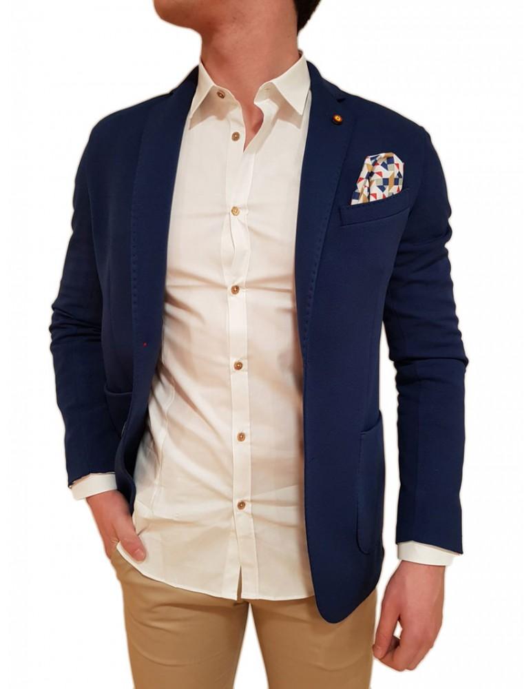 Roberto P Luxury giacca blu royal Rta